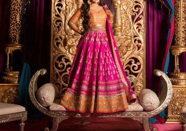 Buy 10 Lehenga Choli for Girls at Reasonable Prices Online with Trendy Accessories to Match! (2019)