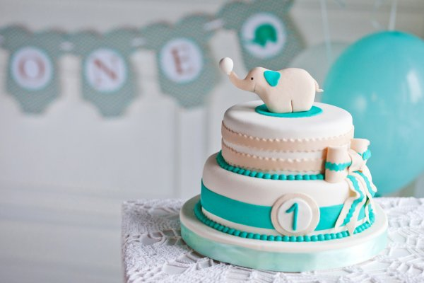 Surprising 10 Cute And Pretty 1St Birthday Cakes For Girls With Pictures Funny Birthday Cards Online Alyptdamsfinfo