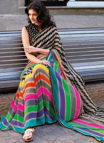 The Best of Myntra's Saree Collection (2019): Step Out Looking Eye Catching in the 10 Hottest Accessories and Sarees Available in Myntra