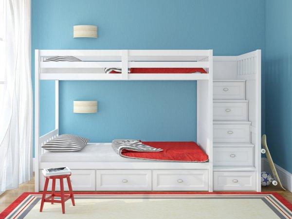 Lebih Hemat Ruang dengan 10 Rekomendasi Tempat Tidur Tingkat untuk Anak!