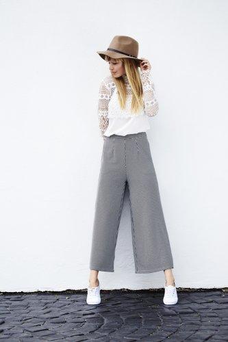 Tips Mudah Padu Padan Atasan Celana Kulot 10 Inspirasi Style Nya