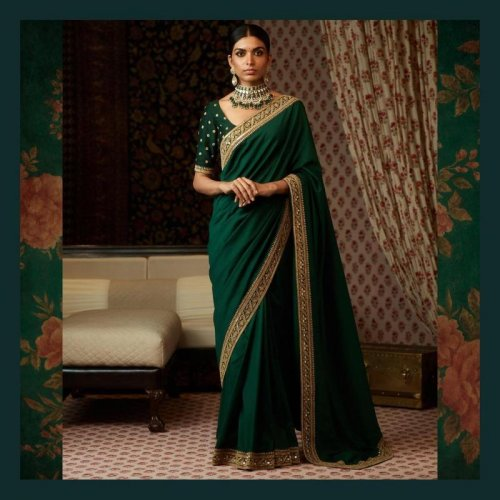 Turn an Ordinary Saree into a Head Turner with a Border! 10 Gorgeous Saree Borders to Make Your Saree Look Prettier and Styling Tips to Show it Off (2019)