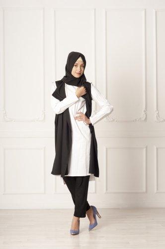 Gaya Terbaik untuk Anda  Bisa didapat dari 8+ Inspirasi Baju Muslim Rompi Ini!
