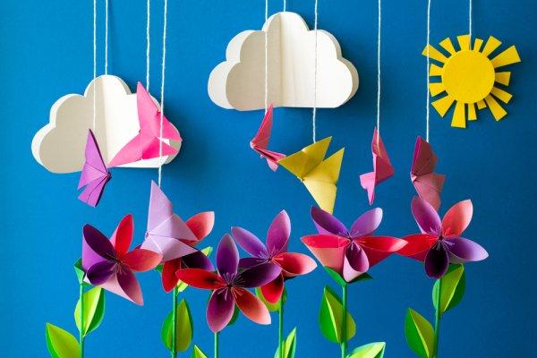 Percantik Ruangan dengan 11 Hiasan Origami Cantik yang Bisa Kamu Buat  Sendiri di Rumah 77533fd354