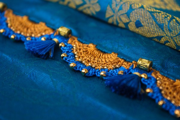 Add a Dazzling Edge to Your Six Yards with the Most Beautiful Saree Laces and How to Stitch Lace Onto Your Saree at Home (2018)