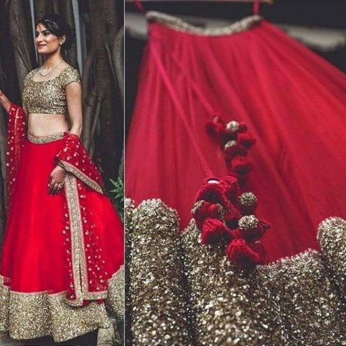 10 Breathtaking Lehengas on Instagram and the Lowdown on Designer Labels that You Absolutely Must Stalk in 2019