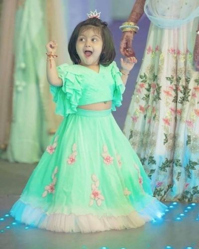 Every Parent Likes Their Kid to be the Center of Attention(2020): Check Our Lehenga for Kids to Make Your Child Look Cute and Have a No-Fuss Outfit for Your Next Occasion.