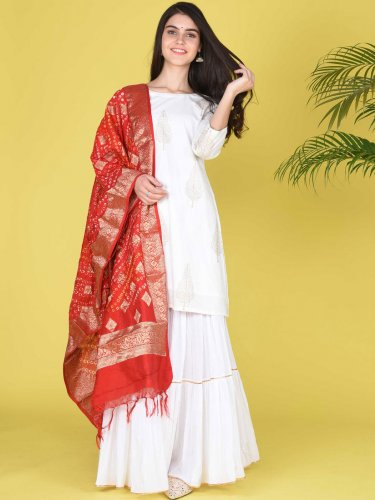 If You Really Want to Present Yourself in Ethnic Attire and Want to Look Different, then You Should Definitely Buy Sharara(2020): 10 Best Sharara and Kurti that Can Give You a Look to Die for on Every Cccasion