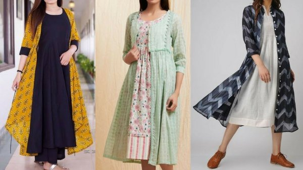 Learn how to pair your kurtis with shrugs to make a dramatic style