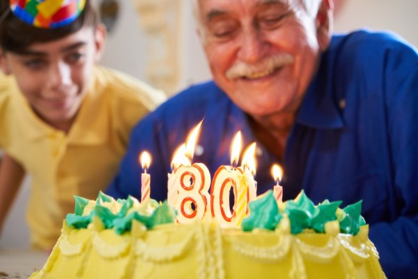 80 歳 お祝い