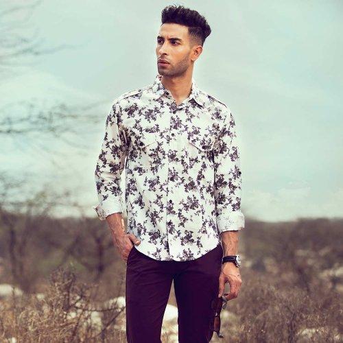 आइए शर्ट प्रेमी पुरुषों के लिए देखतें है, 10 शानदार, नवीनतम और स्टाइलिश प्रिंटेड शर्ट डिजाइन। यहां दी गयी शर्ट आरामदायक है, और आप इन्हे किसी भी मौसम और किसी भी अवसर पर पहन सकते है (2020)