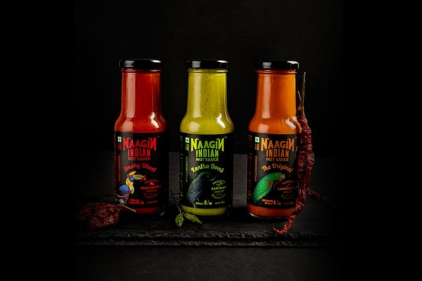 Still Trying to Find Fiery Nirvana in a Bottle of Yet Another Chili Sauce? Try Naagin Hot Sauce, as Indian and Hot as It's Name
