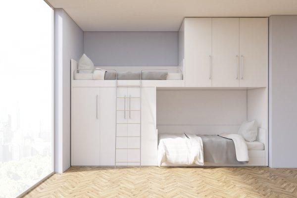 8 Rekomendasi Desain Loft Bed yang Membuat Ruangan Lebih Lega (2020)