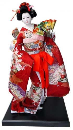 10+ Boneka Tradisional Jepang yang Tak Cuma Cantik  dan Unik tetapi Punya Nilai Seni yang Tinggi