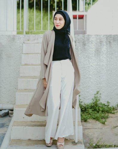 Bosan Tampil dengan Gamis dan Rok? Inilah 10 Rekomendasi Tren Celana Kulot bagi para Hijabers yang Energik dan Aktif