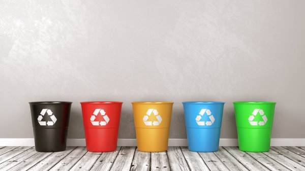 Tempat Sampah Plastik ini Bikin Ruangan Lebih Indah Dipandang
