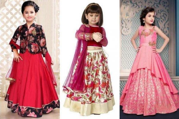 छोटी लड़कियां लहंगे में कितनी प्यारी दिखती हैं, इसलिए अगली शादी या पार्टी के लिये अपनी बेटी को लेहेंगा ही पहनाएँ। बच्चों के लिये २०१९ के १० सबसे प्यारे लहंगे