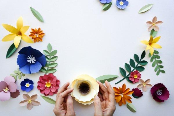 10 Inspirasi Kerajinan Tangan Dari Kertas Buat Kamu Yang Kreatif 2018