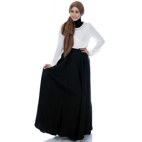 Cantik Menutup Aurat dengan 10+ Rok Muslimah Menawan