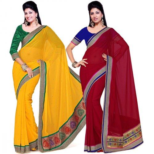 Stunning Saree Deals That You Shouldn't Miss: 9 Gorgeous Saree Combos To Jazz Up Your Wardrobe
