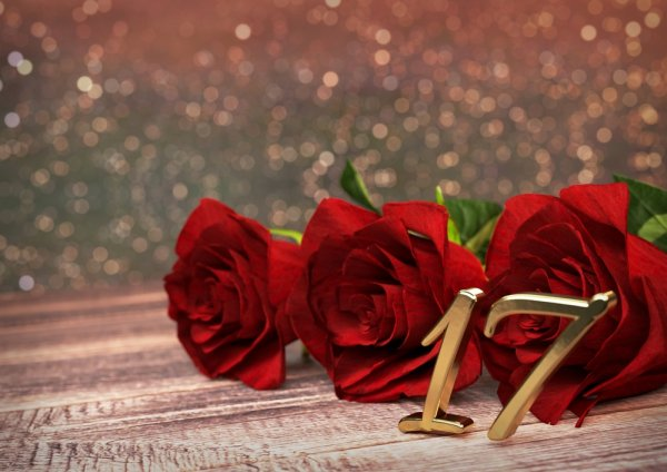 Kado untuk Ulang Tahun yang ke 17 di Tahun 2017