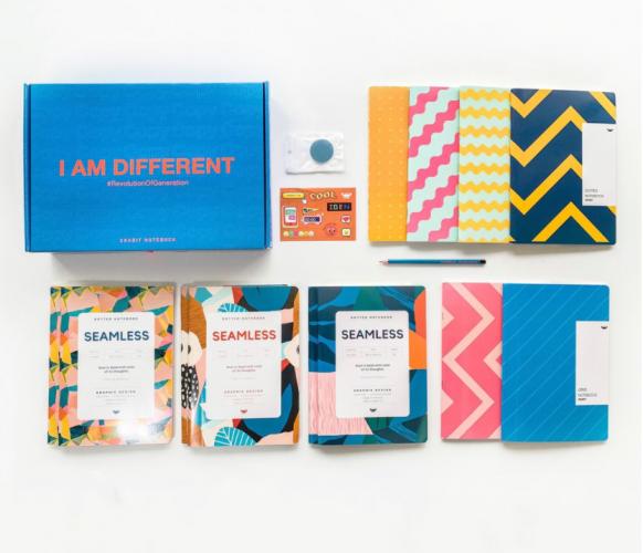 Sổ tay và vở học sinh Crabit Notebuck - thương hiệu uy tín của những người trẻ đầy sáng tạo