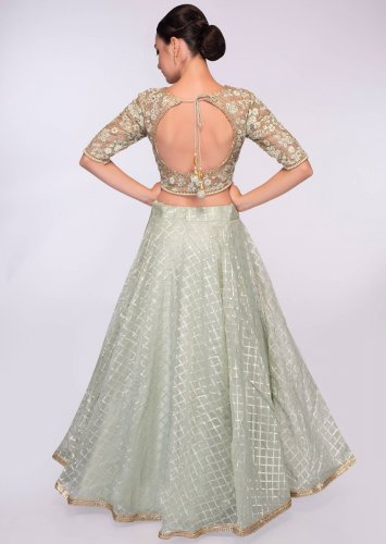 Make Your Lehenga Look One of a Kind: 10 Blouse Back Design to Bring an Unbelievable Amount of Grace and Life to Your Outfit (2019)
