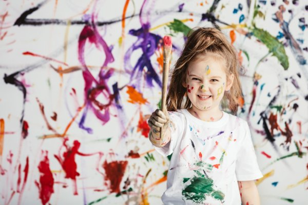 Evolve the Creativity of Your Child: Check Out These Paint Brushes for Kids that Are Easy to Grip, Durable for Helping Children Develop Confidence with Painting.