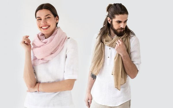 Need Ideas for How to Wear a Scarf Professionally(2021)? Different Ways to Wear a Scarf Because There is More to It Than Just Slinging It Over Your Shoulders.