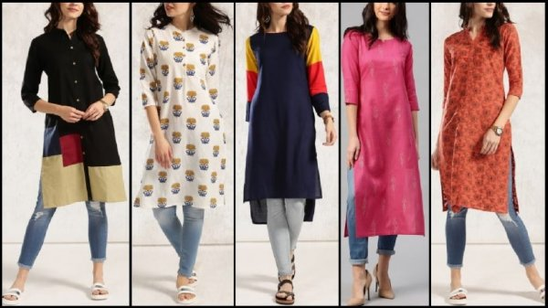 Check Out the Most Trending Kurtis for Girls and Spot What Your Wardrobe is Missing! 10 Stylish Kurti for Girls in 2019
