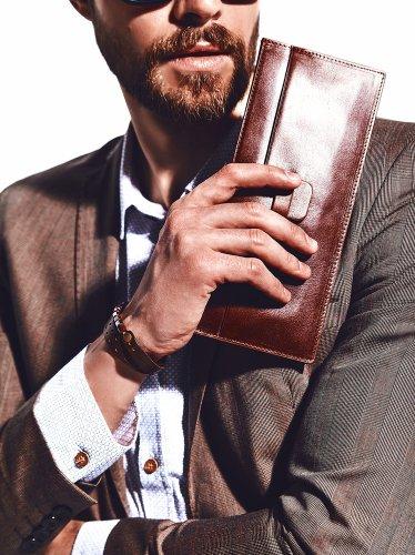 5 Dompet Panjang Pria yang Simpel dan Modis yang Bisa Menampung Segala Kebutuhan Anda