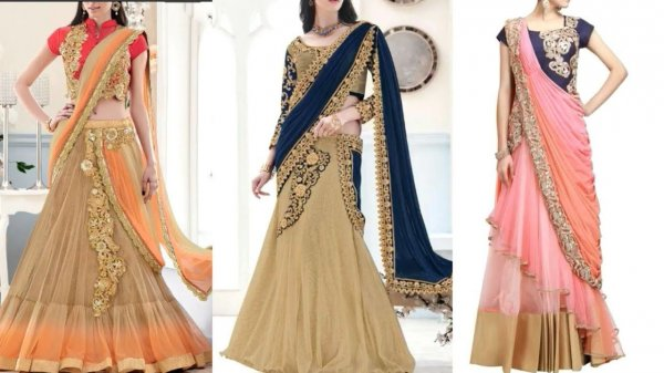 Saree Gowns Combine The Elegance Of The Saree With Modern