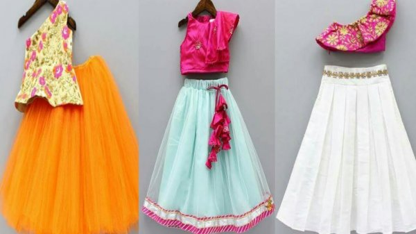 10 Lehenga Cholis that Will Make Your Daughter Look Like an Indian Princess! How to Choose and Style the Right Lehenga for Kids (2020)