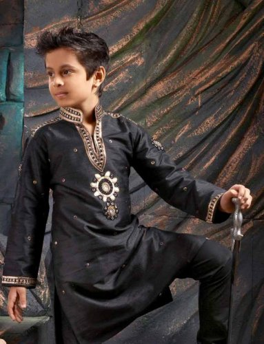 ac32f5d99 Dress Your Little Man in Kurta Pajamas  Check Our 10 Kurti Recommendations  for Boys That are ...