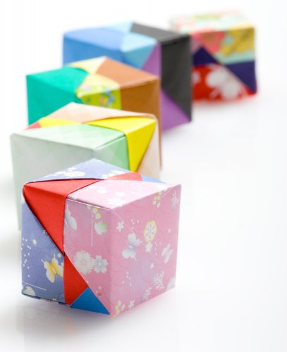 Easy Origami Gift Box Instructions (with Lid) | 500x407