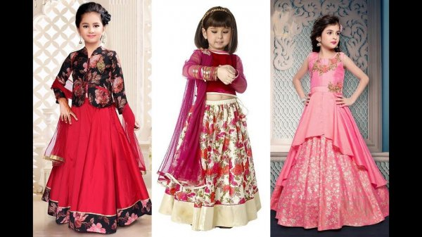 4de02f336343eb Dress Up Your Little One in a Lehenga and Make Her Feel Like the Princess  She ...