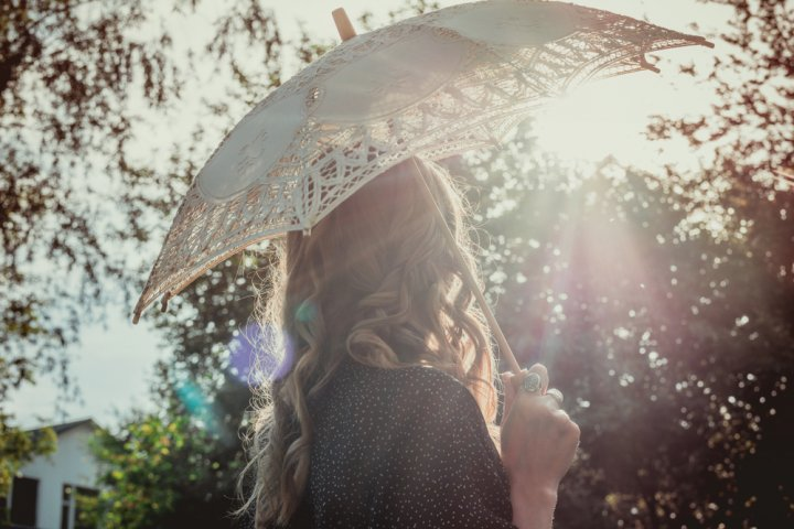 「フリー素材 日傘 女性」の画像検索結果