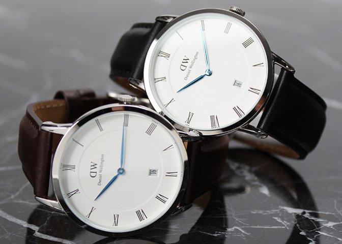 19d0075cc2 ビジネスシーンでダニエルウェリントンのメンズ腕時計を使うなら、革ベルトがおすすめです。 革のベルトはスーツとの相性も抜群で、天然素材ならではの高級感でスーツ  ...