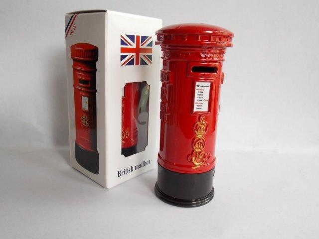 Pajangan Miniatur London Post Box