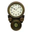 振り子時計 ≪楽天ランキング受賞≫日本製 さんてる 四つ丸 ボンボン時計 アラビア文字