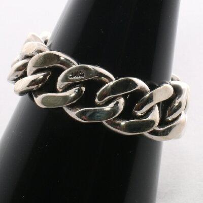 【RG-N085】SILVER925喜平チェーンシンプルシルバーリング【指輪】/【あす楽】/メンズ/レディース/ギフト/プレゼント