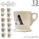 アンソロポロジー【Anthropologie】イニシャルマグカップ プレゼント/ギフト/NY 誕生日 お祝い