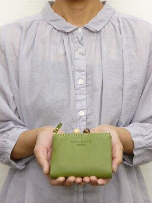 ズッケロ フィラート zucchero filato サライ 二つ折り 財布 がま口 牛革