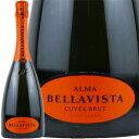 イタリアワイン ワイン スパークリング 白 発泡 [NV] フランチャコルタ・アルマ・グラン・キュヴェ・ブリュット / ベラヴィスタ イタリア ロンバルディア / 750ml