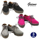 ガイモ ガイモ エスパドリーユ 靴 MASLIN マスリン ブラックソール GAIMO ESPADRILLES レディース シューズ スニーカー ag-530100