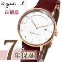 アニエスベー 腕時計(レディース) アニエスベー 時計 FBSK945 マルチェロ レッド ピンクゴールド marcello agnes b. アニエス 腕時計 妻 彼女 誕生日プレゼント 記念日 プレゼント