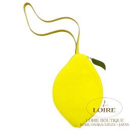 セカンドバッグ エルメス [HERMES] ポシェットシトロン レモン シェーブル ライム[LIME(9R)] シルバー金具