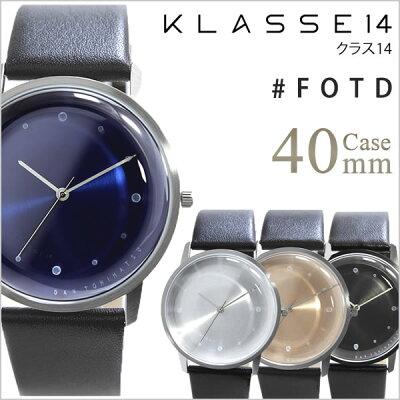 クラス14 腕時計 KLASSE14 時計 クラス フォーティーン 時計 クラス 14 KLASSE 14 腕時計 FOTD DAN TOMIMATSU メンズ レディース ブルー FO14SR003M FO14BK001M FO14SR001M FO14SR002M レザー ダン・トミマツ 人気 ブランド シンプル 送料無料