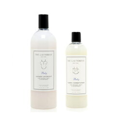 THE LAUNDRESS NYのセット ザ・ランドレス BABYセット(洗剤&柔軟剤)/ THE LAUNDRESS 【正規代理店品】【洗濯洗剤】【柔軟剤】【赤ちゃん用洗剤】【ベビー洗剤】【おしゃれ】【ギフト】【プレゼント】【贈り物】【出産祝い】