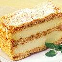 ミルフィーユ さっくりしたパイ生地、その名もミルフィーユケーキ